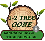 1-2-Tree Gone Logo
