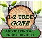 1-2-Tree Gone Logo